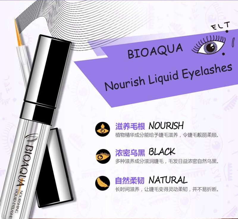 BIOAQUA Powerful Lengthening Thicker Norishing Treatment Eye Lash Essence Nutritious Growth Liquid Eyelashes Serum 4