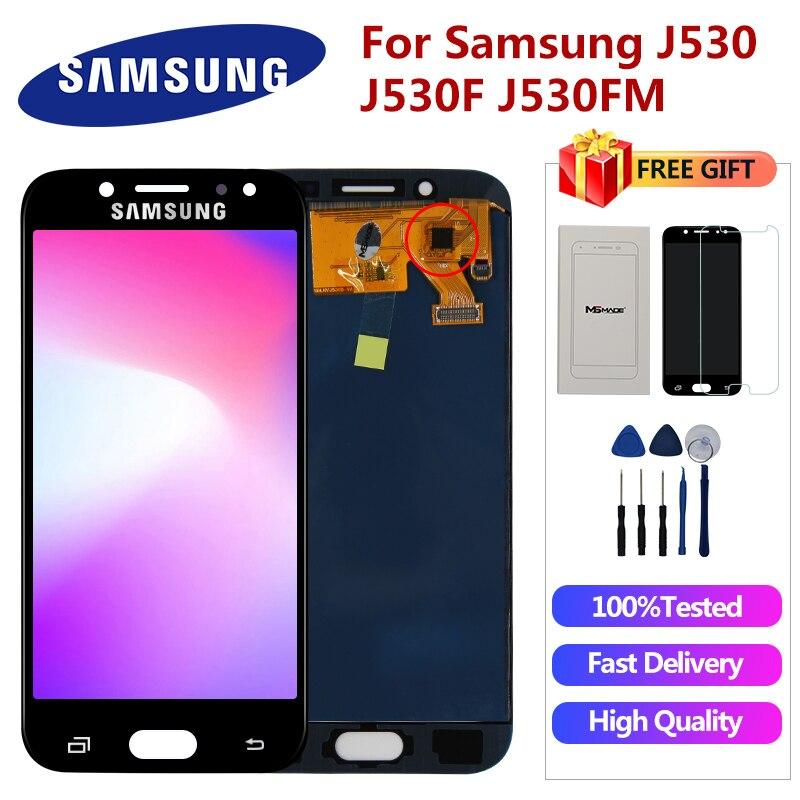 J530FM Display For Samsung Galaxy J5 2017 J5 Pro LCD J530 J530F J530M SM-J530F J5 Pro Display LCD Touch Screen Digitizer Parts