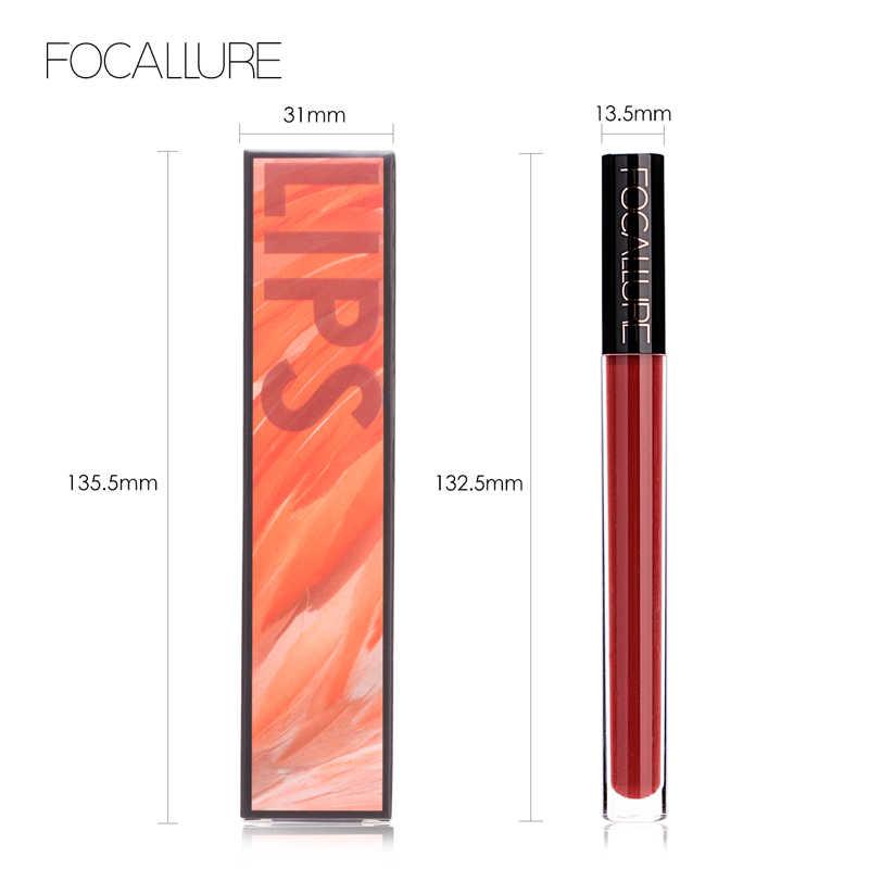 FOCALLURE 2019 nouveauté 14 couleurs rouge à lèvres hydratant longue durée brillant à lèvres offre spéciale et mode lèvres maquillage cosmétique
