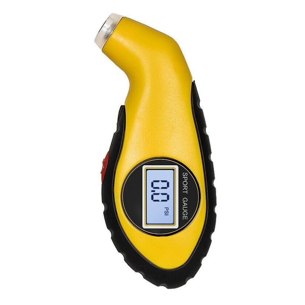 Tyre Air Pressure Gauge Meter Electronic Digital LCD Car Tire Manometer Barometers Tester Tool For Auto Car Motorcycle