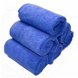Image 2 - Paño suave de microfibra para limpieza de automóviles, paño de lavado, toallas de microfibra para el hogar y el coche de 30*30 cm