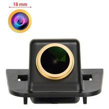 Câmera dourada de hd 1280x720p para toyota prius xw30 mk3 2009 2015 vista traseira invertendo câmera de backup visão noturna câmera à prova dwaterproof água