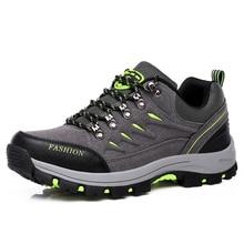 Unisex Waterproof Hiking Shoes Outdoor Men Non-slip Wear-resistant Trekking