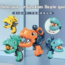 Creative Luminous Toys Children's Cartoon Dinosaur Projection Eight-tone Dinosaur Light Sound Effect Juguetes Para Niños#3