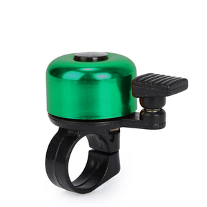 For Safety Cycling Bicycle Handlebar Metal Ring Black Bike Bell Horn Sound Alarm Bicycle Accessory Outdoor Protective Bell Rings(China)