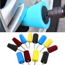 Car Auto Wheel Polishing Sponge Used For Electric Drill Burnishing Ball Polishing Cone Car Hub Buffing Sponge Tool