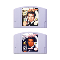 Video Game Cartridge Console Card 64 Bits GoldenEye 007 Series For Nintendo64 Please Note the Version of Console image