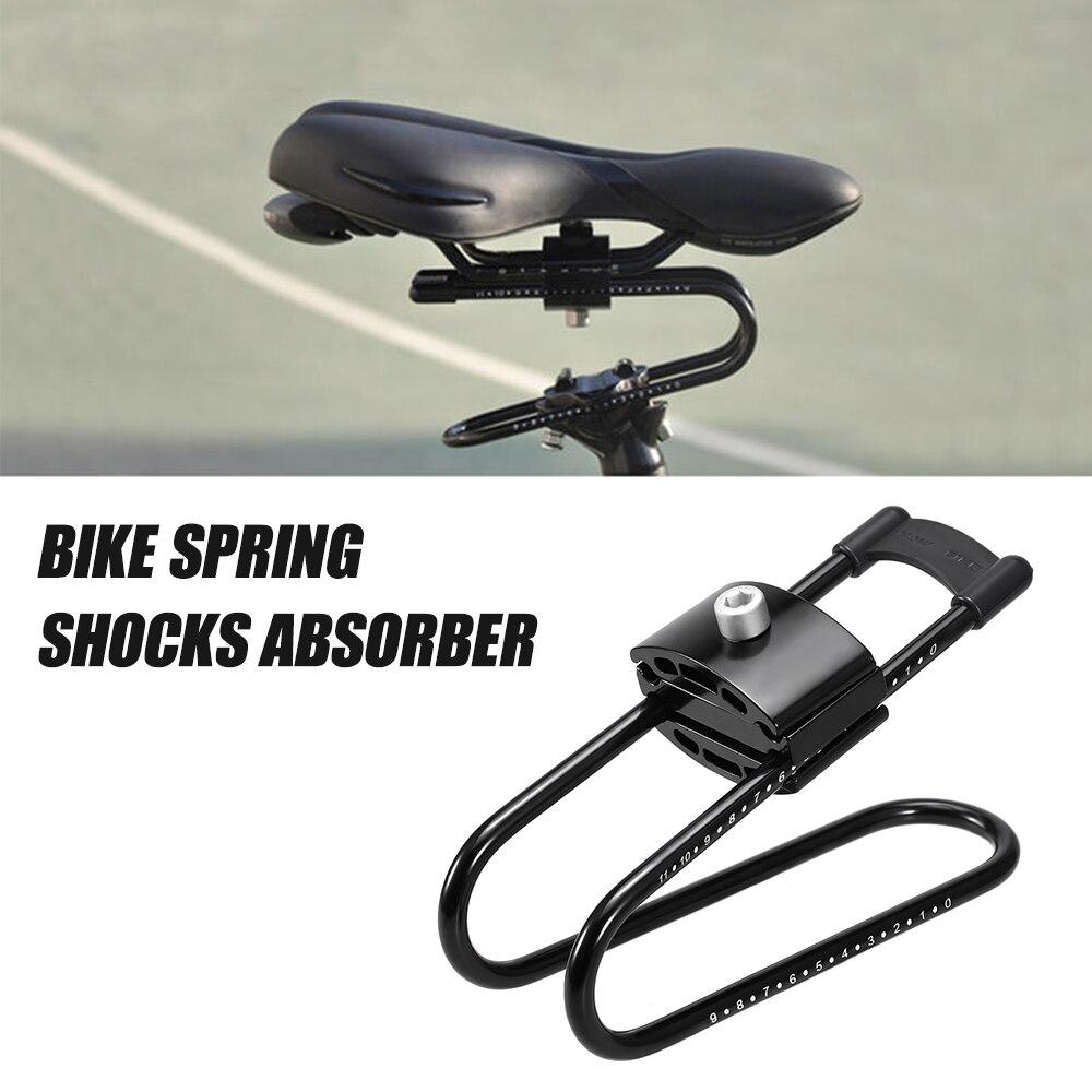 Absorvedor de Choques da bicicleta Sela Primavera Dispositivo de Suspensão Amortecedor de Bicicleta Ciclismo MTB Bicicleta Da liga de Alumínio Shock Absorber