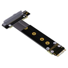 R47SL U2 Interface SFF-8639 ( U.2 ) to M.2 Key M Key-M M2 Adapter Riser Card Ribbon Extender Cable for U.2 SSD(China)
