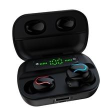 Ture אלחוטי Steroe Bluetooth אוזניות עם מיקרופון כוח תצוגת Steroe מוסיקה אלחוטי אוזניות מיני Bluetooth אוזניות עבור טלפון