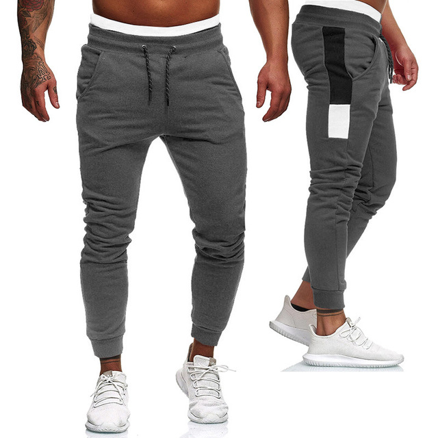 Men's Fitness Training Large Size Sports Warm Pants  1