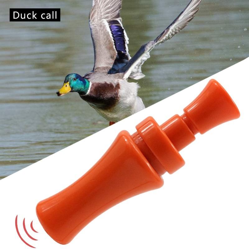 PVC Canard Caller Oie Leurre Sifflet Oiseau Voix Piège Chasse Outils Accessoires