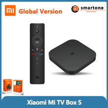 Xiaomi Tv Box S 4k Ultra Hd Android 8.1 Streaming Media Player 2G Running 8G Storage Google Cortex-a53 Quad Core Global Version