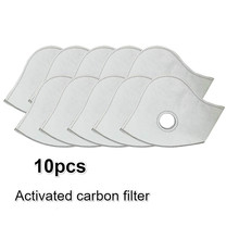 Activated Carbon Filters Dustproof Anti pollution Exhaust Gas PM2.5 Match Tactical Cycling Mask For Home Outdoor Bisiklet Masks