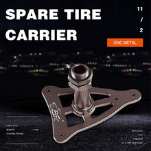 Транспортные средства дистанционного управления игрушки запчасти ЧПУ металлический держатель запасного колеса подходит для HPI BAJA 5B SS 5T ROVAN BAJA KM BAJA 2,0