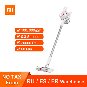 Original Xiaomi Dreame V9 Wireless Handheld Vacuum Cleaner Multifunction Cordless Portable Dust Cleaner 120 AW Suction Power xiaomi roidmi xcq01rm portable handheld strong suction vacuum cleaner z25