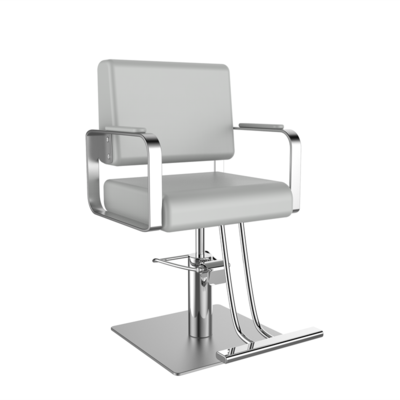 Simple Barber Shop Chair Ins Haircut Chair Hairdresser Chair Stainless Steel Hairdressing Chair Lift Chair Shampoo Bed Bag