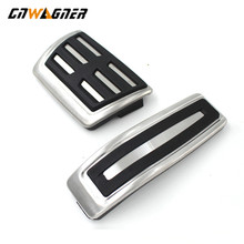 Stainless Steel Car Accessories Brake & Gas pedals AT Plate Pad For Audi Q7 Porsche Cayenne VW Volkswagen Touareg 2007-2015 air suspension compressor pump valve angle elbow connection for vw volkswagen q7 touareg 2004 2010 for porsche cayenne 2002 2010