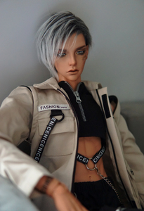 Image 1 - Ball jointed doll Ovid handsome man free eyes  size 1/3 fashion bjd birthday present HeHeBJD