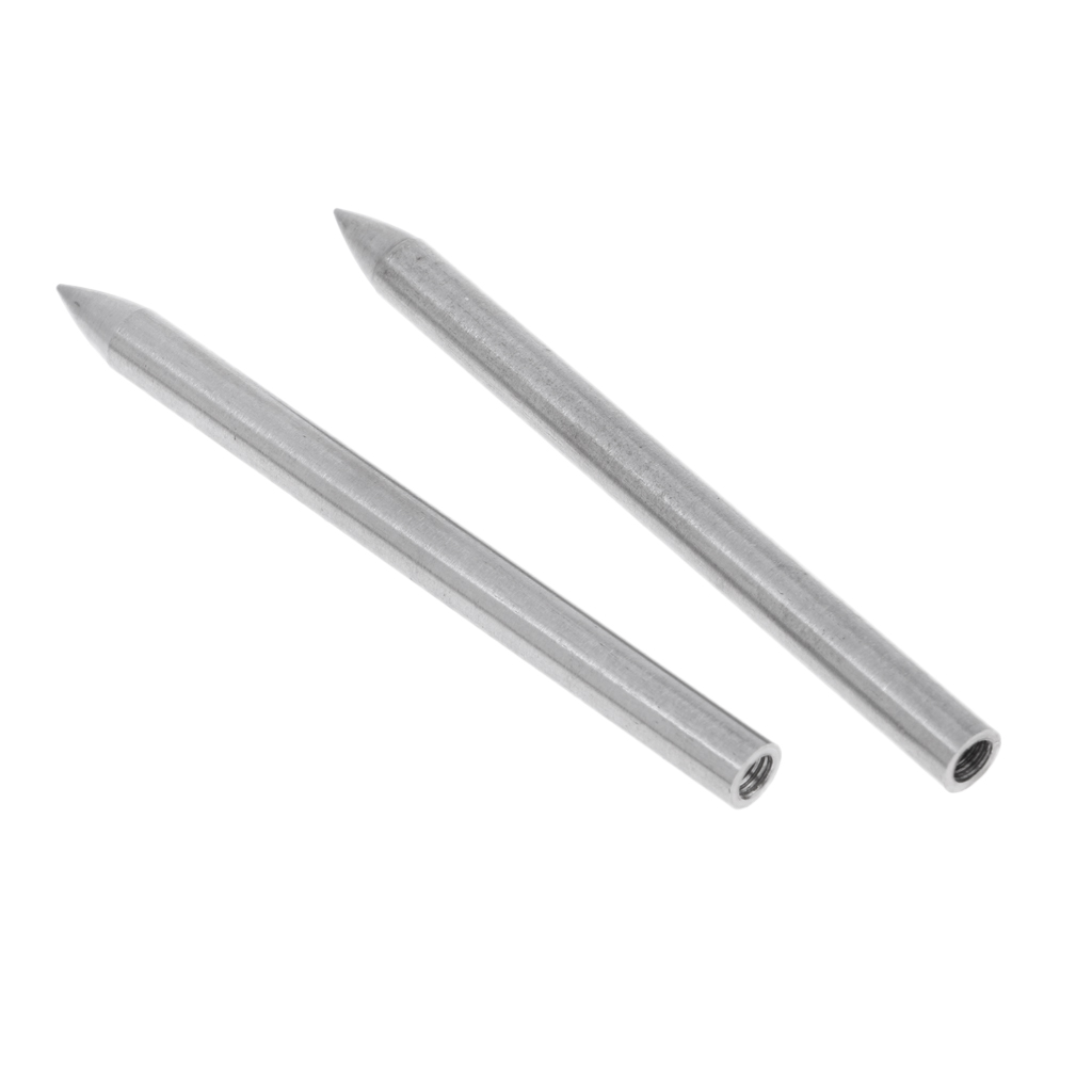 2pcs//set Stainless Steel Threading Needle Fids for DIY Paracord Bracelet