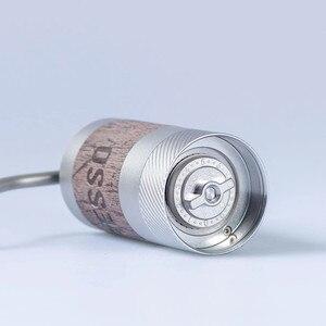Image 4 - Новинка, портативная кофемолка из алюминиевого сплава 1 zat Q2, мини кофемолка, шлифовальный сердечник, очень ручной подшипник для кофе
