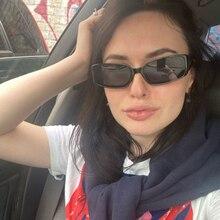 Black clear Shadow sun glasses square Vintage Big Frame Women Sunglasses Retro s