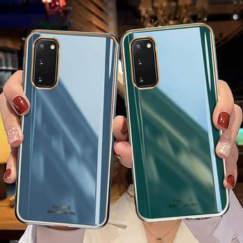 A prueba de golpes caso de teléfono para Samsung Galaxy S20 Ultra suave cubierta en Samsun S20 Plus Nota 10 Plus S10e S10 obra S 20 Armadura
