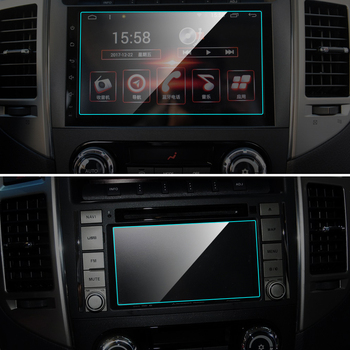 Car GPS Navigation Screen Protector for Mitsubishi Pajero Interior Tempered Glass Touch Screen Protective Film Auto Accessories image