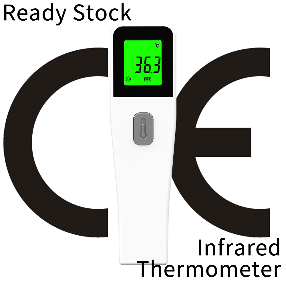CE Approved Non-contact Body Thermometer Forehead Digital Infrared Thermometers Family Use Termometro Baby/Adult Temperature
