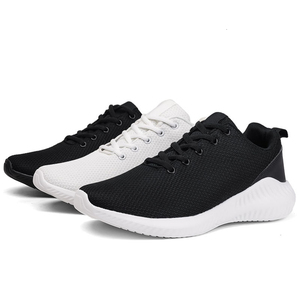 Image 5 - QZHSMY Shoes Men Hot Styles White Sneakers Man Breathable Men Casual Shoes 2020 New Lightweight Mesh Tenis Masculino Adult 39 46