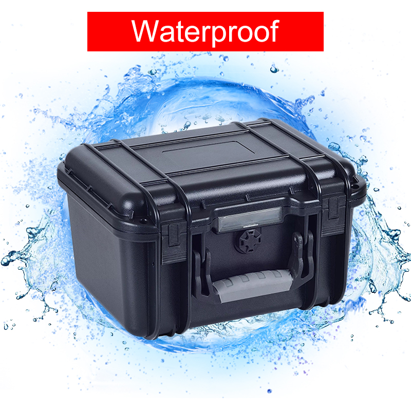 Waterproof Safety Box Protection Instrumentation Case Outdoor Storage Moisture-Proof Anti-Drop Pressure Box Toolbox Hidden Safes