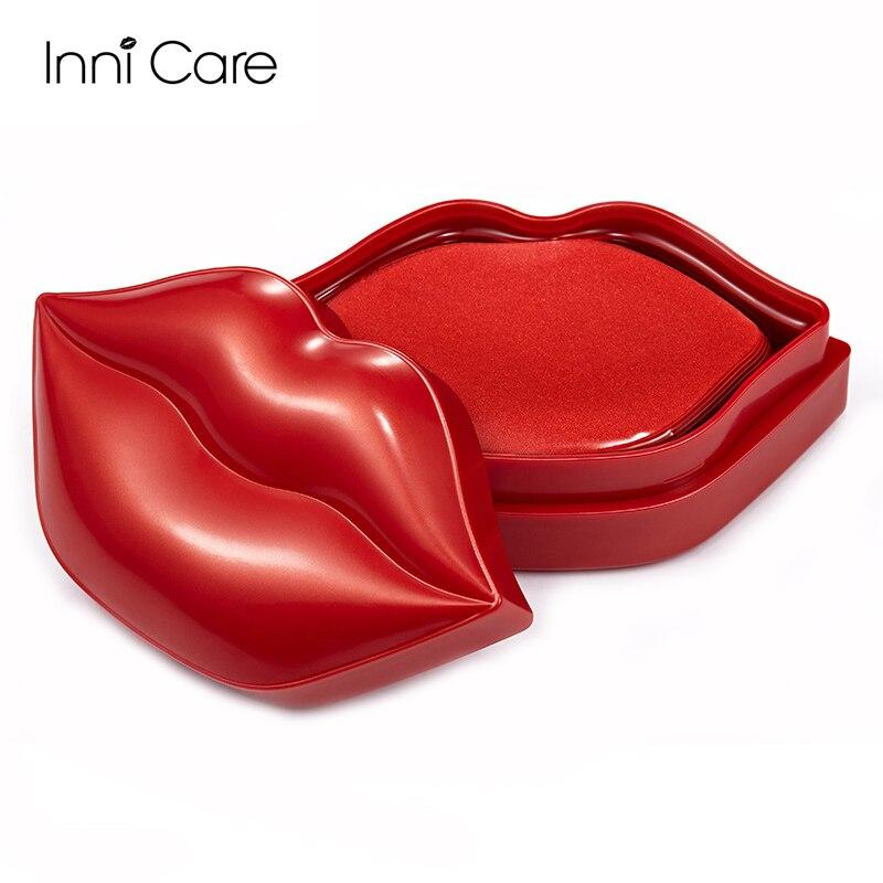 20pcs Cherry Moisturizing Lip Mask Anti Dry Crack Fine Wrinkles Lip Membrane Collagen Nourishing Brightening Beauty Skin Care