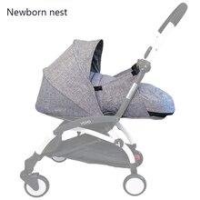 תינוק עגלת קן לידה יילוד שק שינה עגלת אביזרי עבור Babyzen yoyo + יויה Babytime עגלות חורף סל