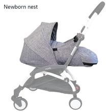 Cochecito de bebé, nido de nacimiento, saco de dormir para recién nacido, accesorio para carrito, cesta de invierno para carritos Babyzen yoyo + Yoya