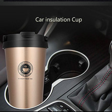 Outdoor Car insulation Cup Travel Mug 500ml Double Wall Stainless Steel Vacuum Flasks Thermo Cup Thermol Bottle Water Bottle