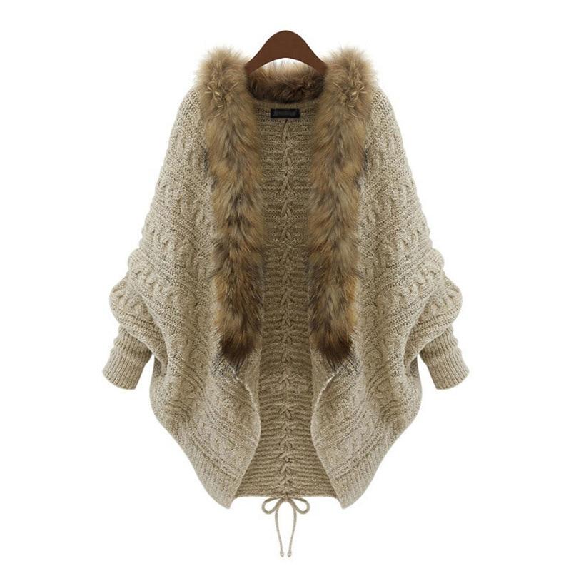 DANALA Women Cardigans Sweater V Neck Solid Loose Knitwear Single Breasted Casual Knit Outwear Winter Jacket Coat 2020