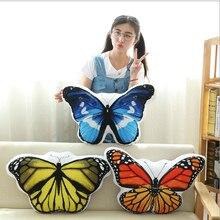 WYZHY креативная подушка с бабочкой siesta Подушка на офисный стул Подушка плюшевая игрушка подарок для друзей 35 см* 40 см