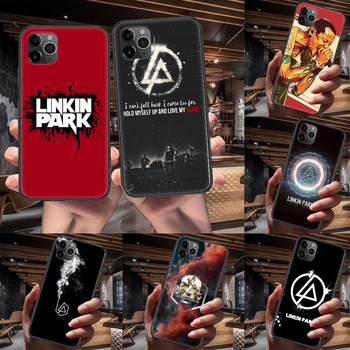 Band Linkin Rock and parks Phone Case For Iphone 4 4s 5 5S SE 5C 6 6S 7 8 Plus X XS XR 11 12 Mini Pro Max 2020 black Etui Soft image