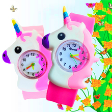 Patted Wrist Watch Children Kids Watches Boys Girls Gift Electronic Digital Sports Students Clock Baby Horse Toys