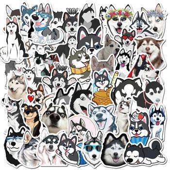 50 pcs/set Cute Cartoon Husky Shiba Pet Dog PVC Waterproof Stationery Stickers Travel Luggage Sticker Scrapbooking Diy Craft - discount item  22% OFF Stationery Sticker