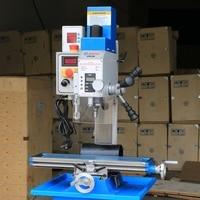 Mini milling machine tool drilling Desktop benchtop Variable speed brushless motor spindle MT2 metal 18mm Multi function VM18L