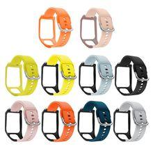 Anti-Scratch Silicone Replacement Watch Band Wrist Strap Bracelet for TomTom Adventurer/Runner 2 3/Spark 3 Sport Accessori