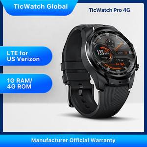 Ticwatch Pay Tracking-Swim-Ready Ip68 Waterproof Google NFC Long-Battery-Life 1GB 4G