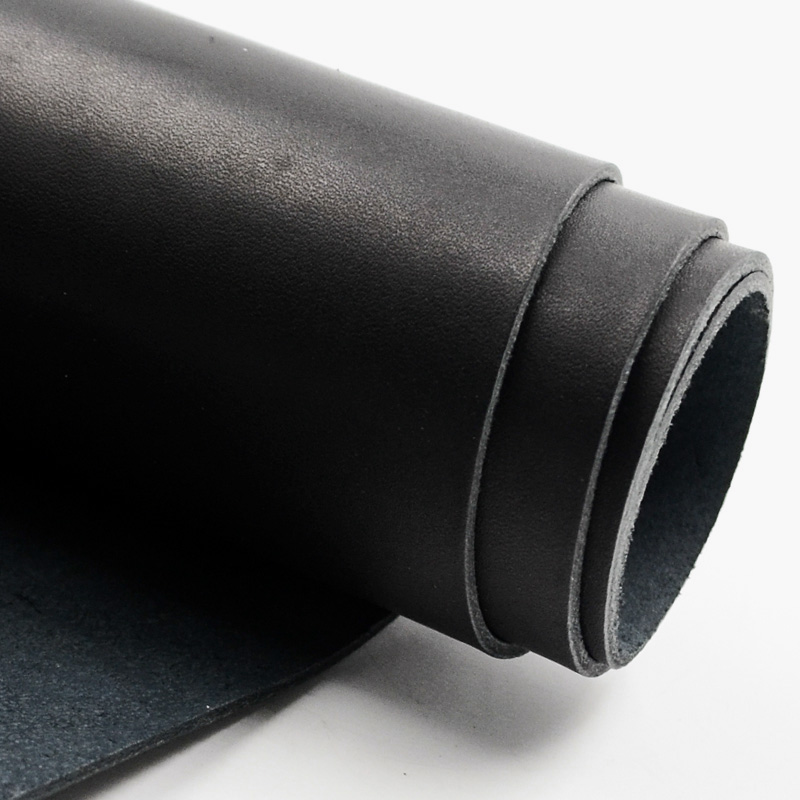 veg tanned first layer leather genuine leather cow leather carving leather 1.0mm 2.0mm thickness paint for skin black color