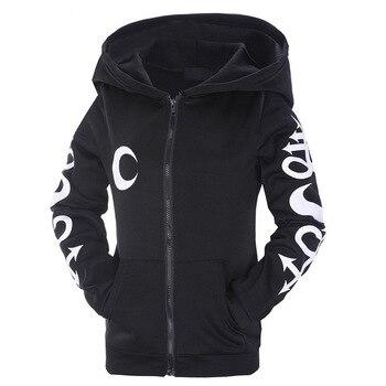 woman hoodies sweatshirts ladies  festivals classics autumn winter 2020 clothing sweat shirts moon witches halloween