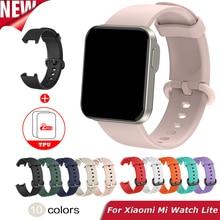 Replacement Strap For XiaoMi Mi Watch Lite Strap Silicone Watchband For XiaoMi Mi Watch Lite Smart Watch Strap Bracelet