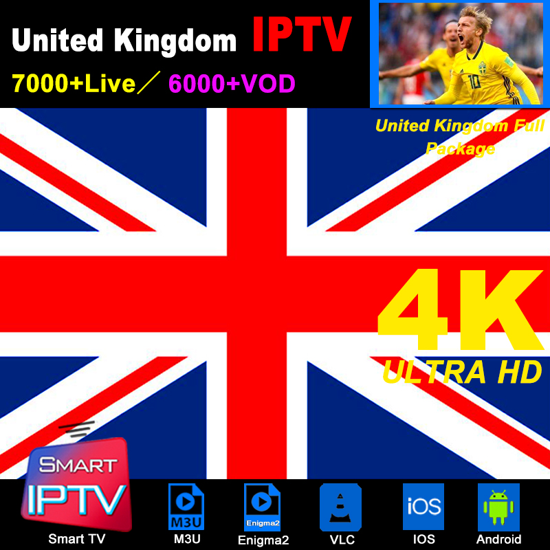 UK IPTV Subscription M3U Abonnement IPTV USA United Kingdom Spain France Germany Portugal Italy Android LG Smart TV Box Enigma2