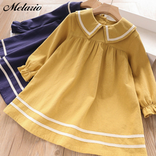 2015 NEW Girls Fashion European and American suit children clothing set Half sleeve Blue coat+dress  summer kids clothes