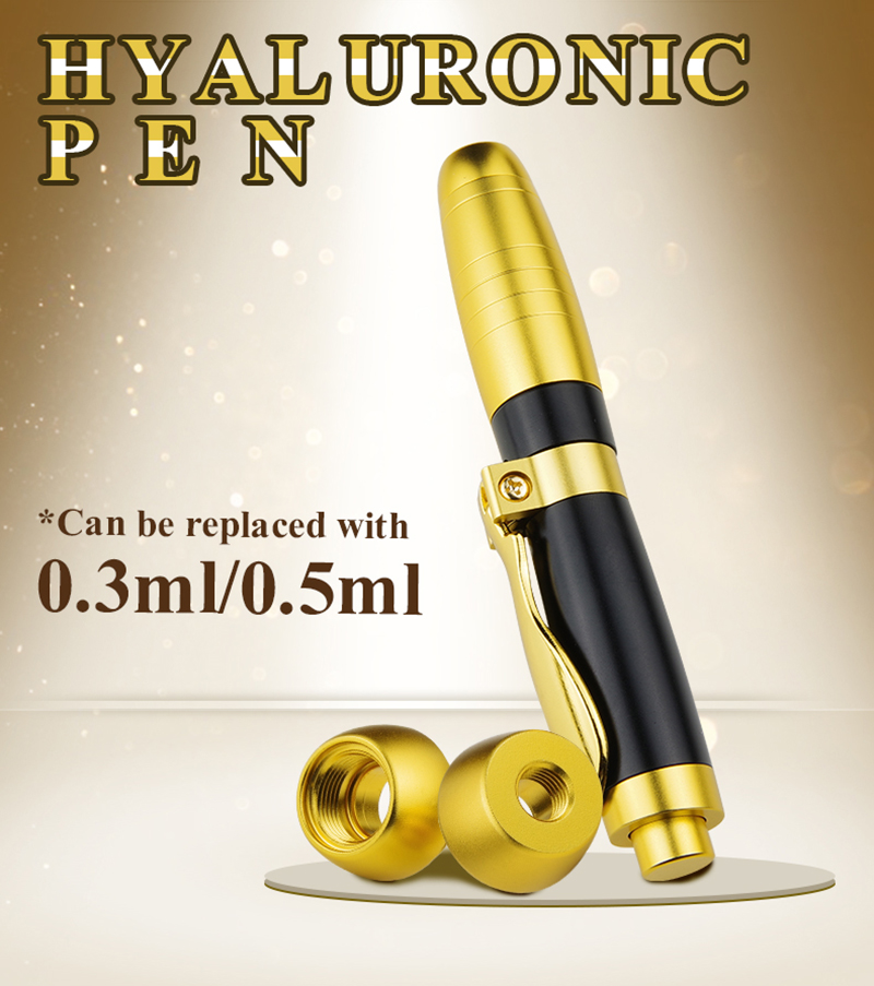 Image 3 - 2 IN1 Atomizer Sterile Hyaluronic Pen hyaluronique Acid Pen For Filler dermal lip fillerlip Anti Wrinkle face lifting injection-in Face Skin Care Tools from Beauty & Health