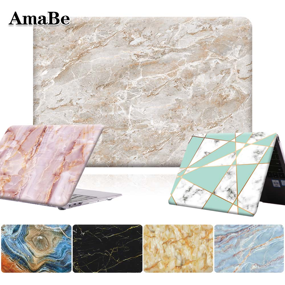 Unisex Marble Anti-Scratch Laptop Case For HUAWEI MateBook X Pro 2019 13.9 / MateBook 13 14 Inch Hard Shell Cover